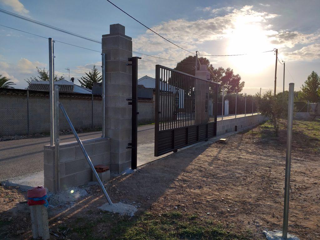 Proyecto de vallado de finca en zona del Lentiscar, Yecla.